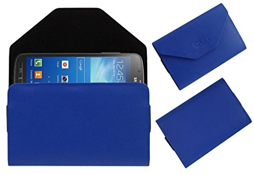 Acm Premium Pouch Case For Samsung Galaxy S4 Active I9295 Flip Flap Cover Holder Blue  available at amazon for Rs.329