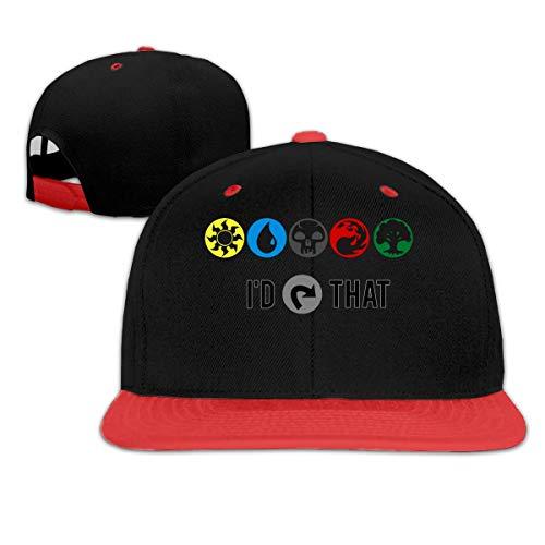 Magic The Gathering I D Tap That Summer Cool Heat Shield Unisex Hip Hop Baseball Cap