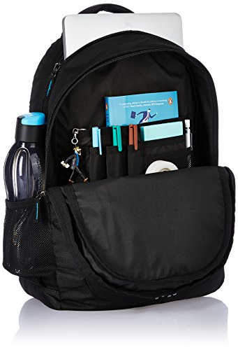 Best best backpack brands in India 2020 Amazon Brand - Solimo Laptop Backpack for 15.6-inch Laptops (29 litres, Black) Image 4