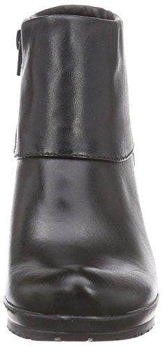 Tamaris 25460, Stivali classici imbottiti a gamba corta donna Nero (Nero (Black 001))