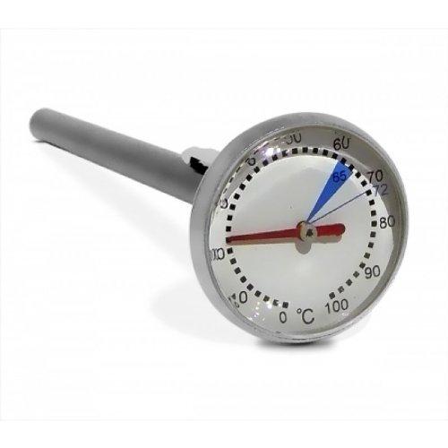 Eintauchthermometer / Milchthermometer aus Edelstahl (Mein Barista Kaffeemaschine)
