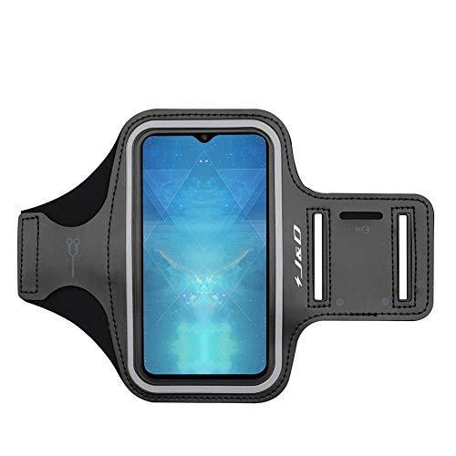 J&D Kompatibel für OnePlus 7 Pro 5G/OnePlus 7/OnePlus 6T/OnePlus 6/OnePlus 5T/OnePlus 5/OnePlus 3T/OnePlus 3 Armband, Sportarmband Running Armband, Tasche für Schlüssel, Perfekte Kopfhörer-Verbindung