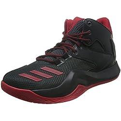 adidas D Rose 773 V, Zapatillas de Baloncesto para Hombre, Negro (Negbas/Escarl / Griosc), 47 1/3 EU