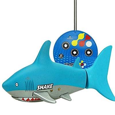 Balai RC Shark Ferngesteuertes Boot, Komplett Versiegelt Wasserdichtes Design Sicher Und Lustig von Balai