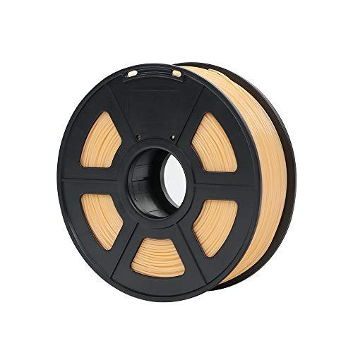 No logo w-shuzhen, plastica del filamento 1.75mm di pla for stampante 3d 1kg / rotolo materiali di consumo di gomma facoltativi di colori di 28 colori for stampare (colore : skin)