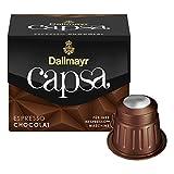 Dallmayr Capsa Espresso Chocolat, Nespresso Kompatibel Kapsel, Kaffeekapsel, Röstkaffee, Kaffee, 50 Kapseln
