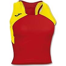 Joma Camiseta record ii woman rojo-amarillo s/m para mujer
