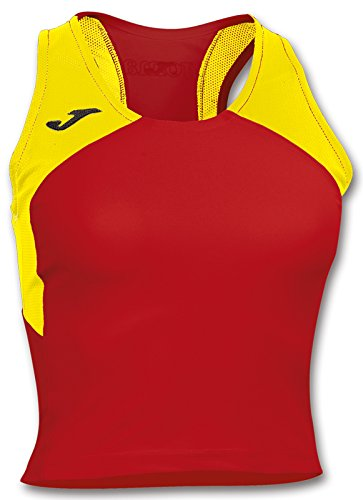 Débardeur Femme RECORD 2 JOMA Rouge / Jaune RED-YELLOW