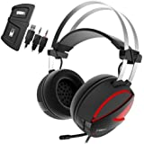 GAMDIAS Hebe E1 RGB 2.1 Virtual Surround Sound Gaming Headset