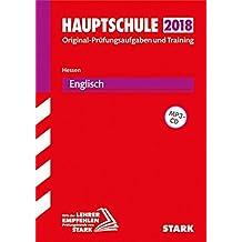 Abschlussprüfung Hauptschule Hessen - Englisch, mit MP3-CD