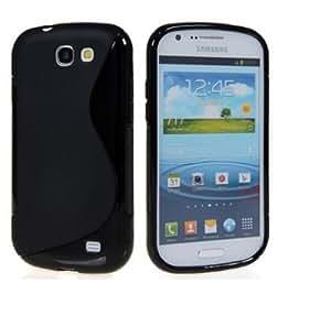ESI Black S Line Soft TPU Gel Case Cover Skin For Samsung Galaxy Express i8730