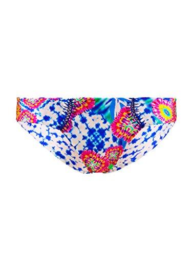 Bikini-Hose Slip zum Wenden Luli Fama Beautiful Mess Bunt Mehrfarbig