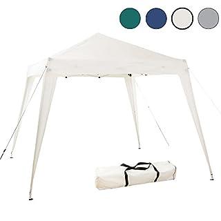 Arebos 3x3m Pavilion Gazebo Garden Tent Party Tent Camping Tent Foldable Open (Beige)