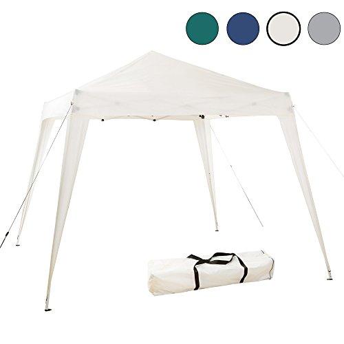 Arebos Pavillon faltbar/schneller Aufbau Dank Falttechnik/Wasserabweisend / UV-Schutz (Beige)