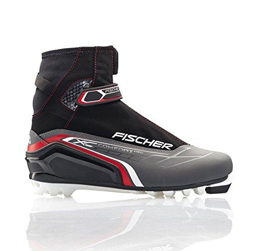 Langlauf Skischuhe Fischer XC Comfort Pro Red EU36 UK3,5 Skistiefel für NNN-Bindung