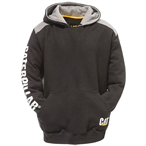caterpillar-mens-logo-panel-hooded-sweashirt-hoodie-black