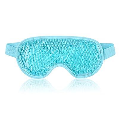 Wiederverwendbare Augenmaske Gelperlen für