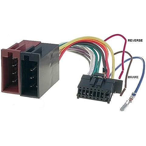 Cable adaptador ISO haz para radio Pioneer–16pin conector para MVH-AV270BT