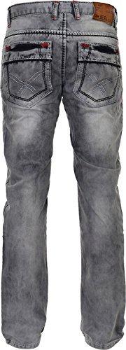 Jeel - Jeans - Homme Gris - Gris