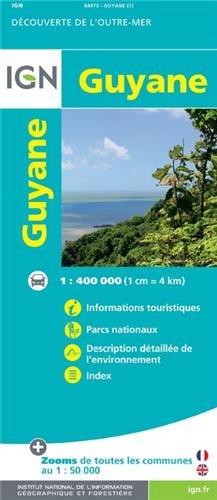 84007 GUYANE  1/400.000 par IGN