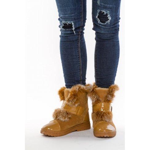 Princesse boutique - Boots fourrées CAMEL Camel