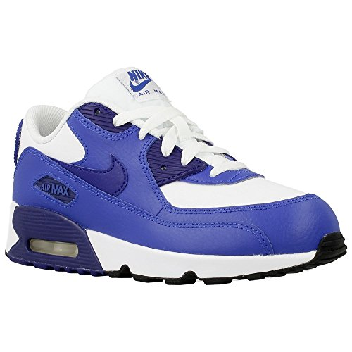 Nike - Air Max 90 Ltr PS - 833414105 - Couleur: Blanc-Violet - Pointure: 33.5