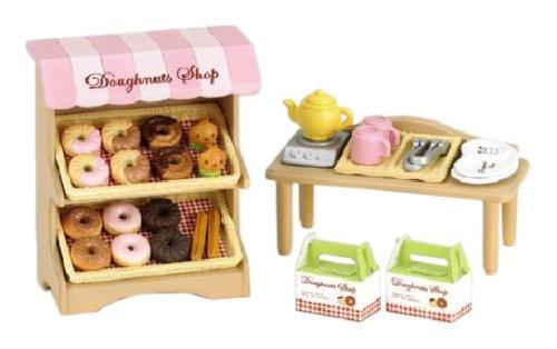 "Epoch Sylvanian Families Sylvanian Family Doll ""Donuts set (the shop) Mi -61"" (japan import)"