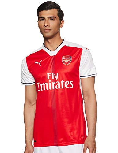 PUMA Herren Trikot AFC Home Replica Shirt high risk red-White, L