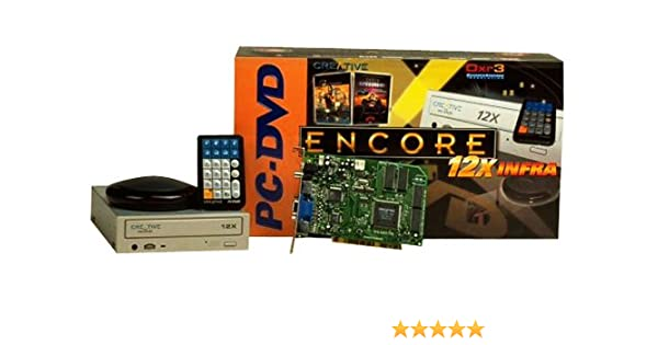 CREATIVE PC DVD ENCORE DXR3 DESCARGAR CONTROLADOR