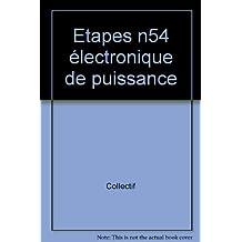 Etapes, numéro 54 : électronique de puissance