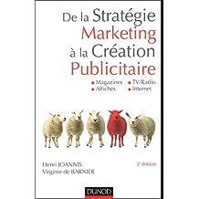 De la stratégie marketing à la création publicitaire : Magazines, Affiches, TV/Radio, Internet