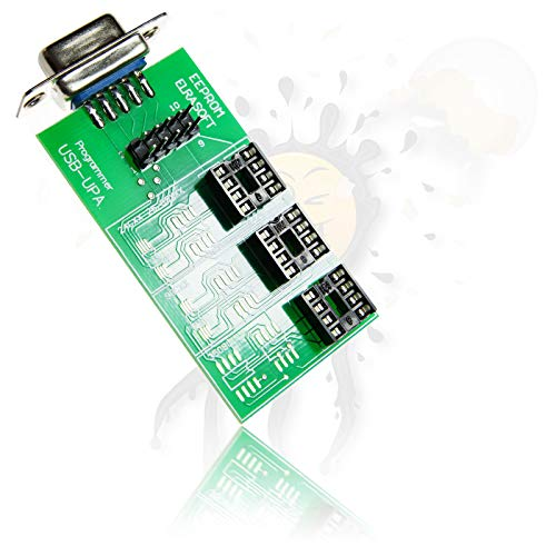 Androegg UPA 1.3 Programmer SOIC 8 Adapter Board Programmierer ST62, NSC CR16, ATMEGA, EEPROM ISP - 8 Atmega