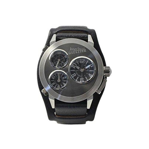 Jean Paul Gaultier da uomo orologio da polso analogico al quarzo in pelle 8500302