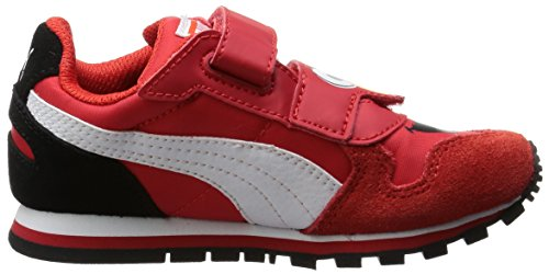 Puma - St Runner Sesame Str Elmo Kids, Scarpe da ginnastica Unisex – Bambini Rosso (Rot (high risk red-white 01))