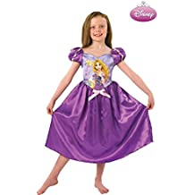 Disfraz Rapunzel morada Disney - Único, 3 a 5 años