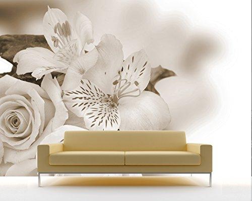 bilderdepot24-fotomurale-autoadesivo-orchidea-v-sephia-75x50-cm-direttamente-dal-produttore