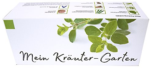 Mein Kräuter-Garten - Ein originelles Geschenk für Hobbygärtner, 3 verschiedene Kräuter zum Züchten.