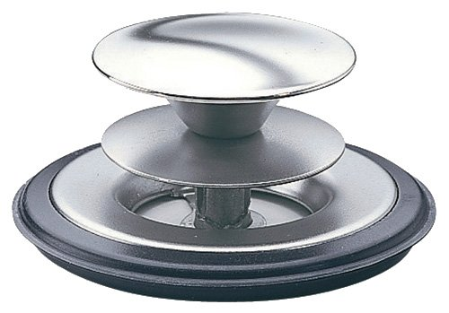 INSINKERATOR STP-DS SILVER SAVER SINK STOPPER  POLISHED STAINLESS STEEL BY INSINKERATOR