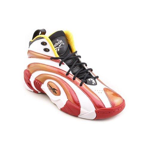 Reebok Shaqnosis OG Shoe (Big Kid),Black/Nuclear Yellow/Excellent Red/White,6.5 M US Big Kid (Basketball Kid Reebok Schuhe)