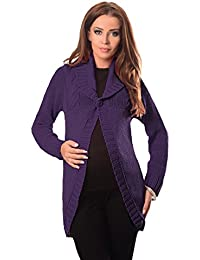 30ef5256bdaca Purpless Maternity 2in1 Pregnancy and Nursing Cardigan Knitted Jumper for  Pregnant and Breastfeeding Ladies Top Coat