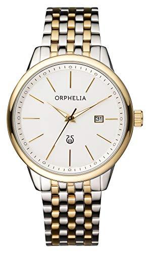 Orphelia Herren-Armbanduhr Lifetime Analog Quarz Edelstahl
