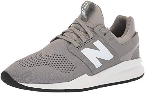 New Balance Herren 247v2 Sneaker, Grau (Marblehead/White Eg), 49 EU
