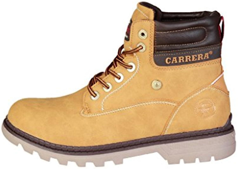 Carrera Jeans Hombre TENNESSE_CAM721000 Marrón Botines Altos 41 EU