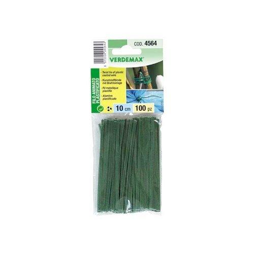 Verdemax 4564 12 cm fil Cored plastique (Lot de 100)