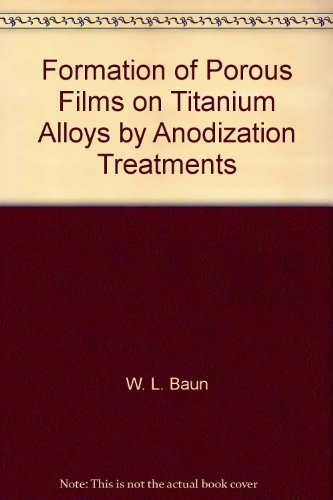 Formation of Porous Films on Titanium Alloys by Anodization Treatments