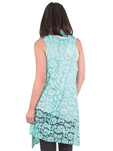 Love My Fashions -  Maglia a manica lunga  - Camicia - Donna Mint Green