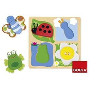 Goula 53012 - Puzzle Campagna/Tessuto