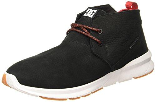 DC Shoes ashlar le - Chaussures Mi-Hautes Pour Homme ADYS100367 Noir - Pirate Black