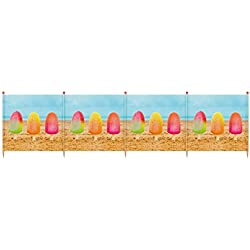 YELLO Unisexe 5Deluxe Sucettes Brise-Vent, Multicolore, 5pôles