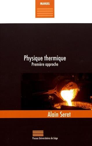 Physique thermique : Première approche